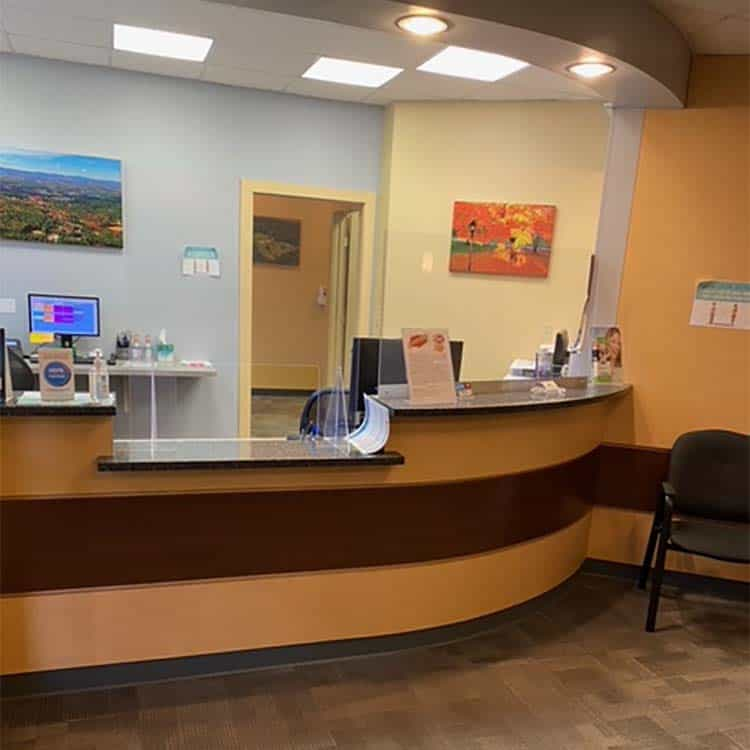 Reception Desk - Townsend Dental Group